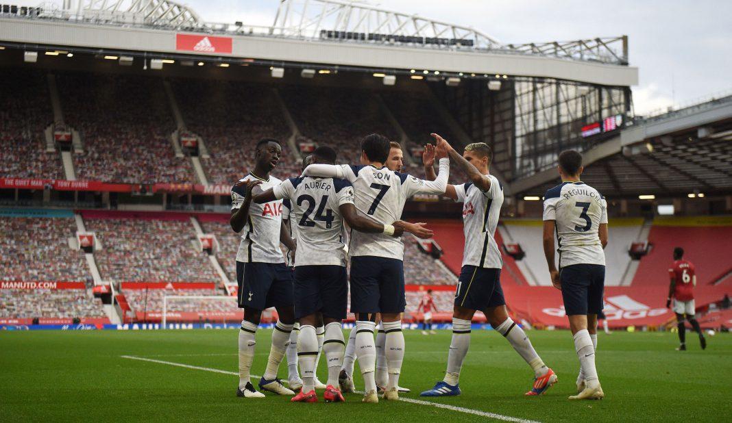 Tottenham humilla al Manchester United en Old Trafford