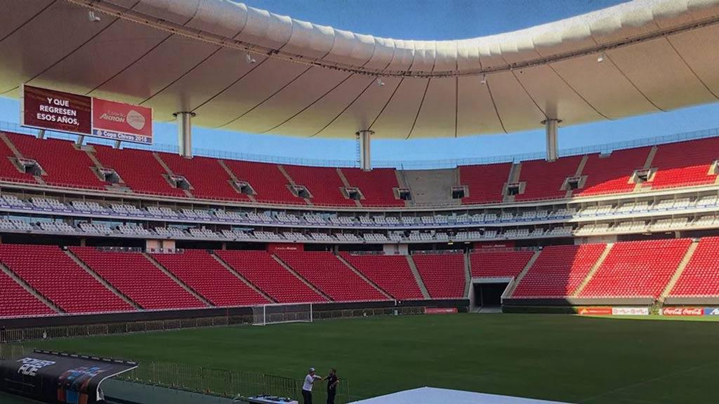 Chivas cerrará al publico el estadio Akron ante León