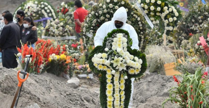 5 mil 581 veracruzanos han muerto por COVID-19.