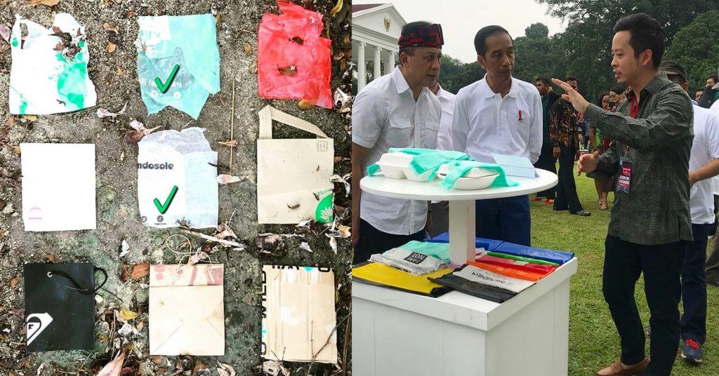 Crean bolsa de plástico biodegradable hecha de yuca.