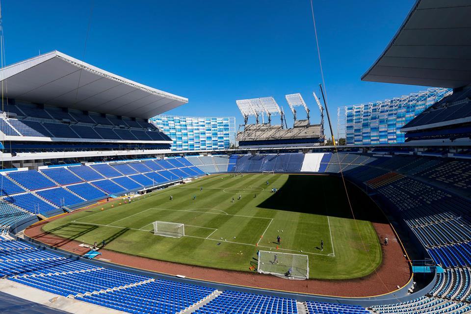Puebla descarta abrir las puertas del estadio Cuauhtémoc