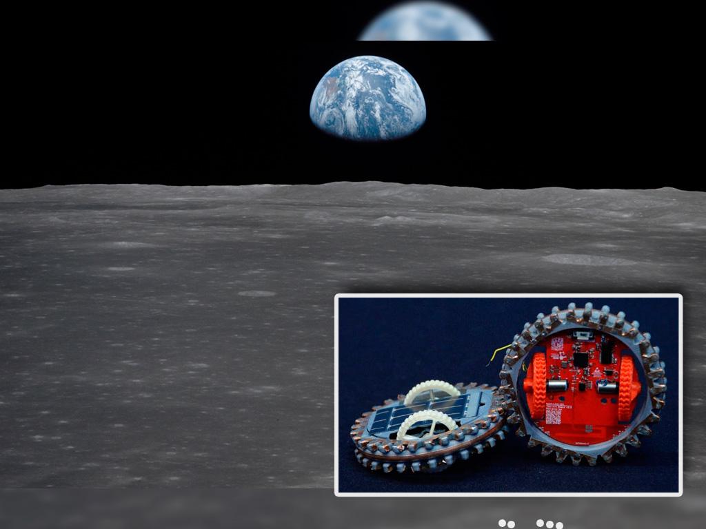 Robots hechos en la UNAM llegarán a la luna en 2021.