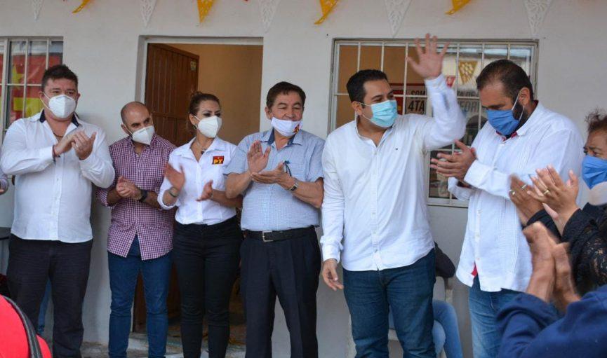 Instala PT casas de enlace en Veracruz; inauguran la primera en Medellín