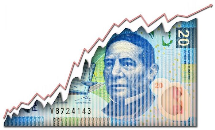 Peso mexicano obtiene ganancias frente al dólar.