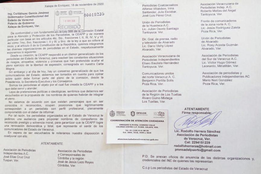 Periodistas piden ser tomados en cuenta para elección de la CEAPP