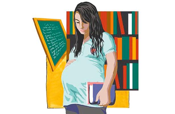 Embarazo adolescente es una fábrica de pobres: ONU.