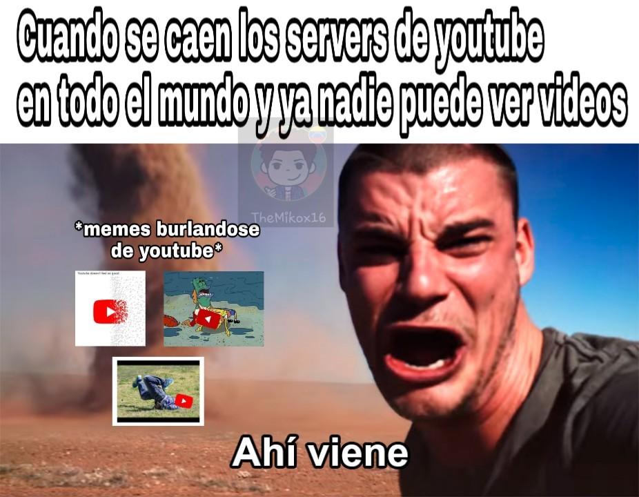 You Tube dejó de funcionar en casi todo el mundo.