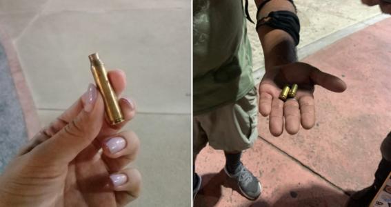 Policía de Cancún dispara armas de fuego contra feministas.