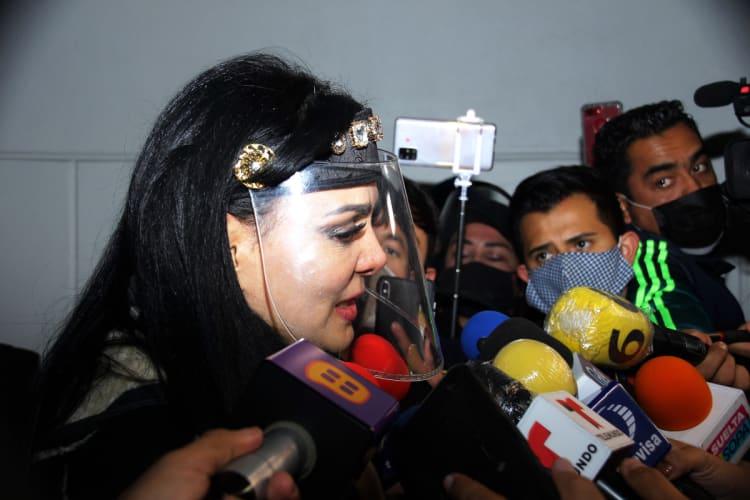 """Maribel Guardia se retracta de defender a Eleazar """"N""""."""
