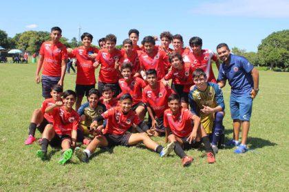 CVF Tiburón de La Panchita campeón del Torneo Mes Patrio