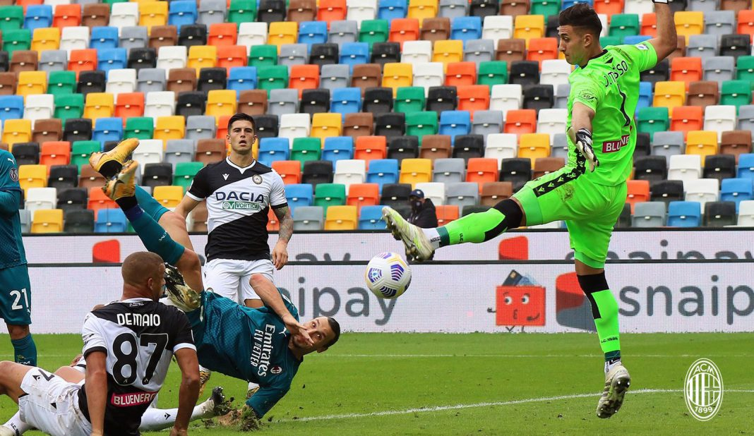Chilena y gol de Ibrahimovic en victoria del Milan