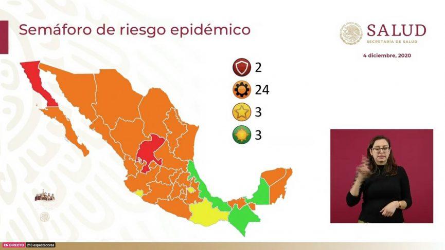 Veracruz se pinta de verde en semáforo epidemiológico