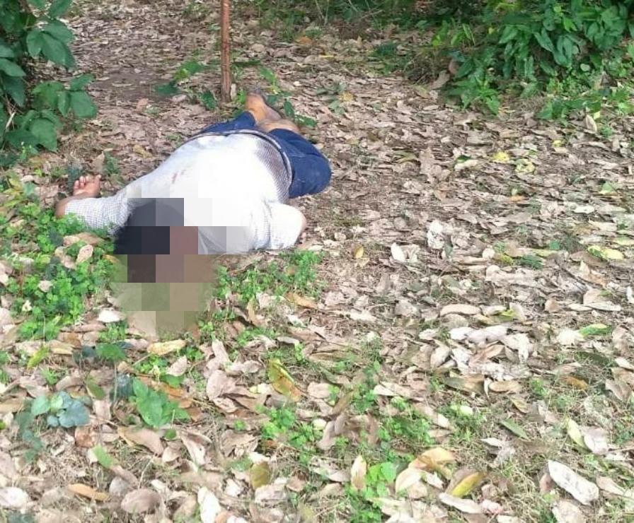 Ejecutado a balazos en una finca de Gutiérrez Zamora