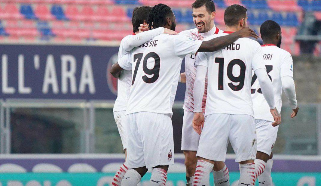Milan vence a Bolonia pese a penal fallado de Ibrahimovic