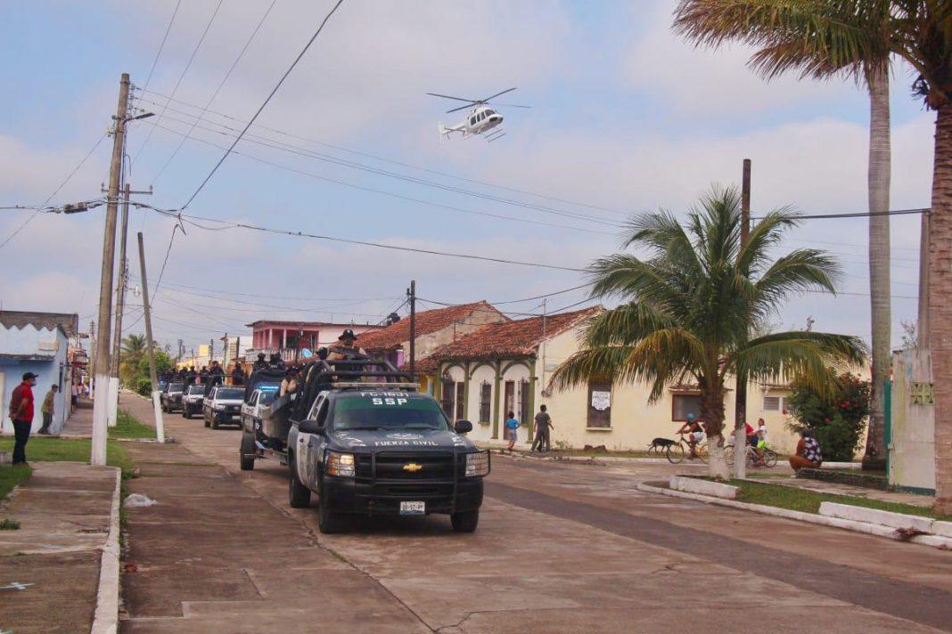 Fuerte operativo en Tlacotalpan para evitar celebraciones por la Candelaria
