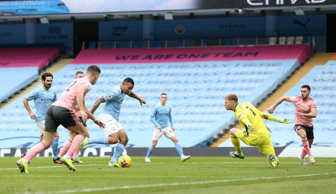 Manchester City vence apretadamente al Sheffield United