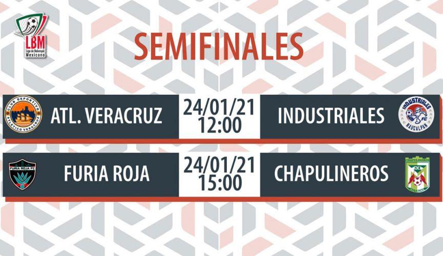 Atlético Veracruz se medirá a Industriales en semifinales.