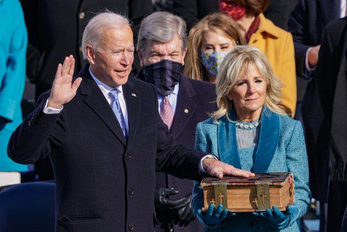 Joe Biden ya es presidente de Estados Unidos
