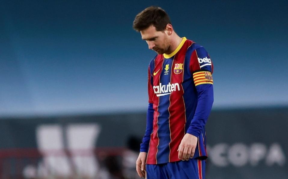 Messi se pierde dos partidos como castigo por su expulsión en la Supercopa