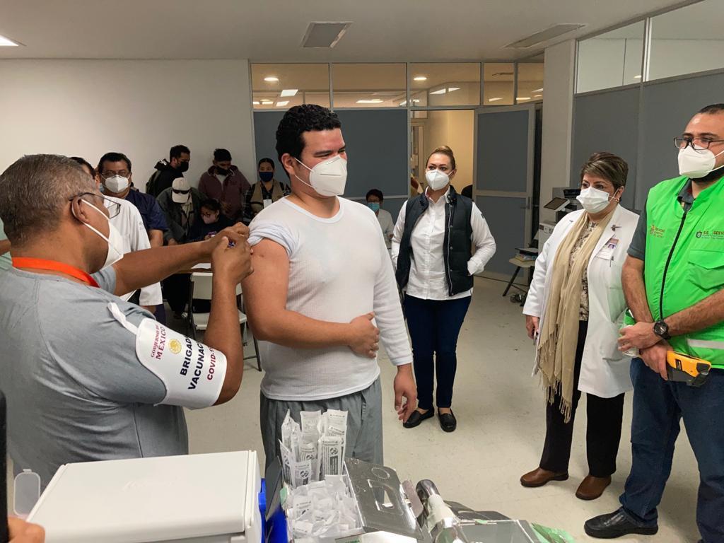 Arranca la vacunación contra COVID-19 en hospitales de Veracruz-Boca del Río