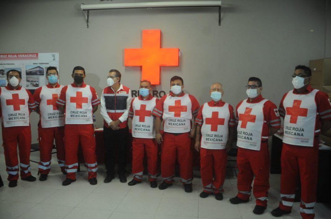 Cruz Roja delegación Veracruz enfrenta déficit financiero por pandemia