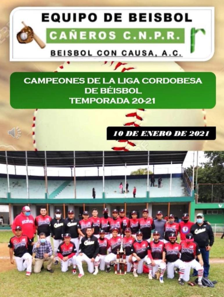 Cañeros CNPR gana el título de la Liga Cordobesa de Beisbol tras vencer en la final a Her Sob