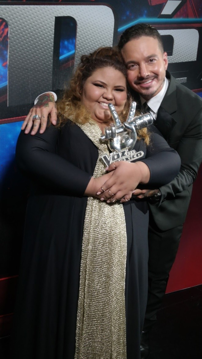 """¿La recuerdas? Así luce la ganadora de """"La voz"""", Yuliana Martínez tras bajar 90 kilos"""