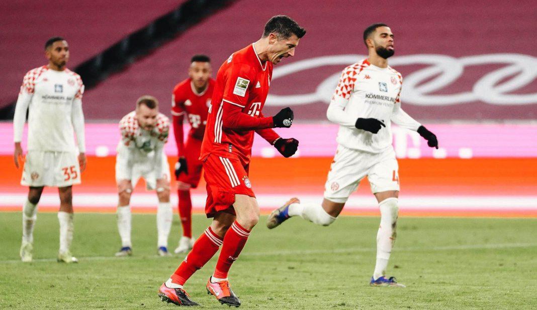 Bayern con espectacular remontada vence a Mainz