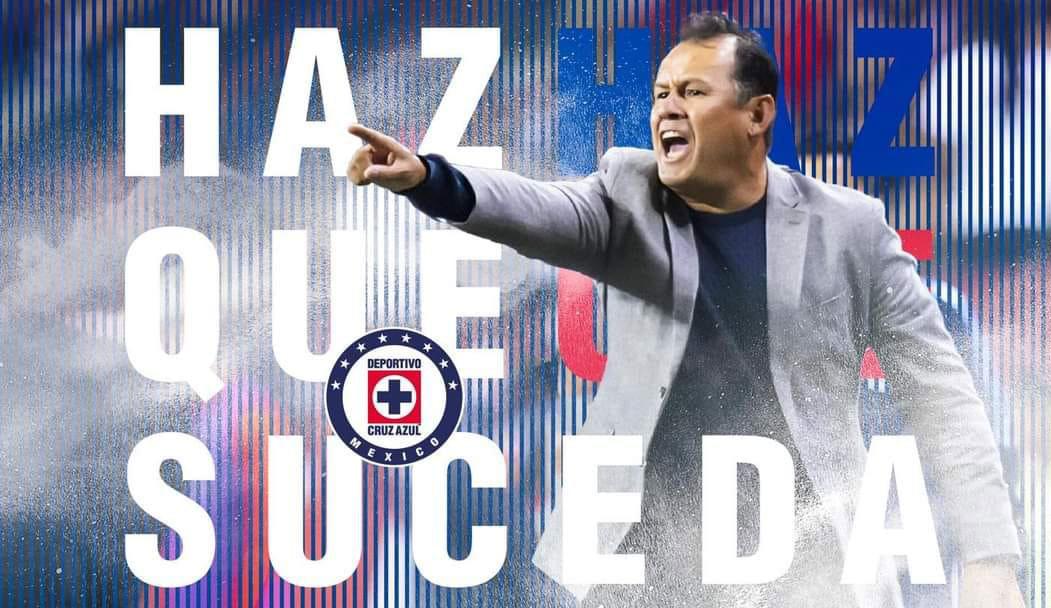 Juan Reynoso es oficialmente técnico de Cruz Azul