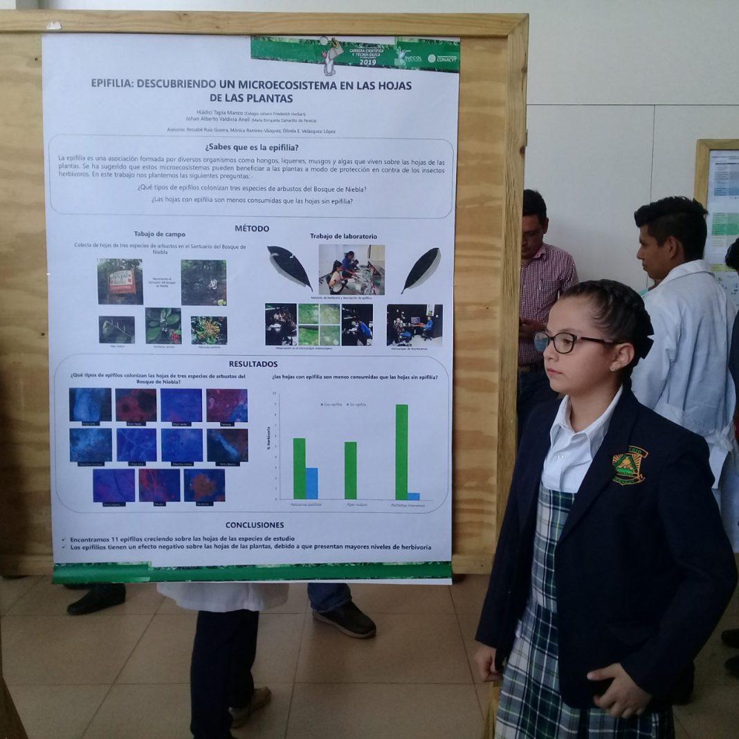 Hiádici Tapia Manzo, una niña veracruzana de ciencia