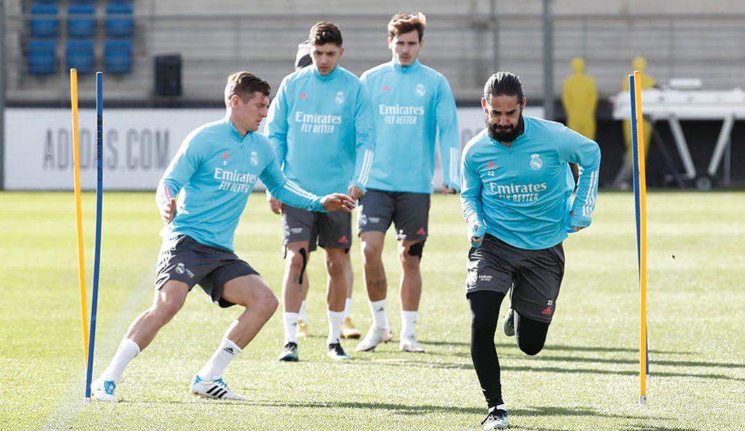 Real Madrid recupera jugadores previo a Valencia