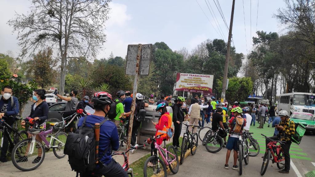 Vecinos ni enterados están del proyecto de ciclovía en Xalapa