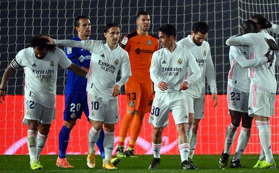 Real Madrid derrota a Getafe y se acerca a la cima de LaLiga