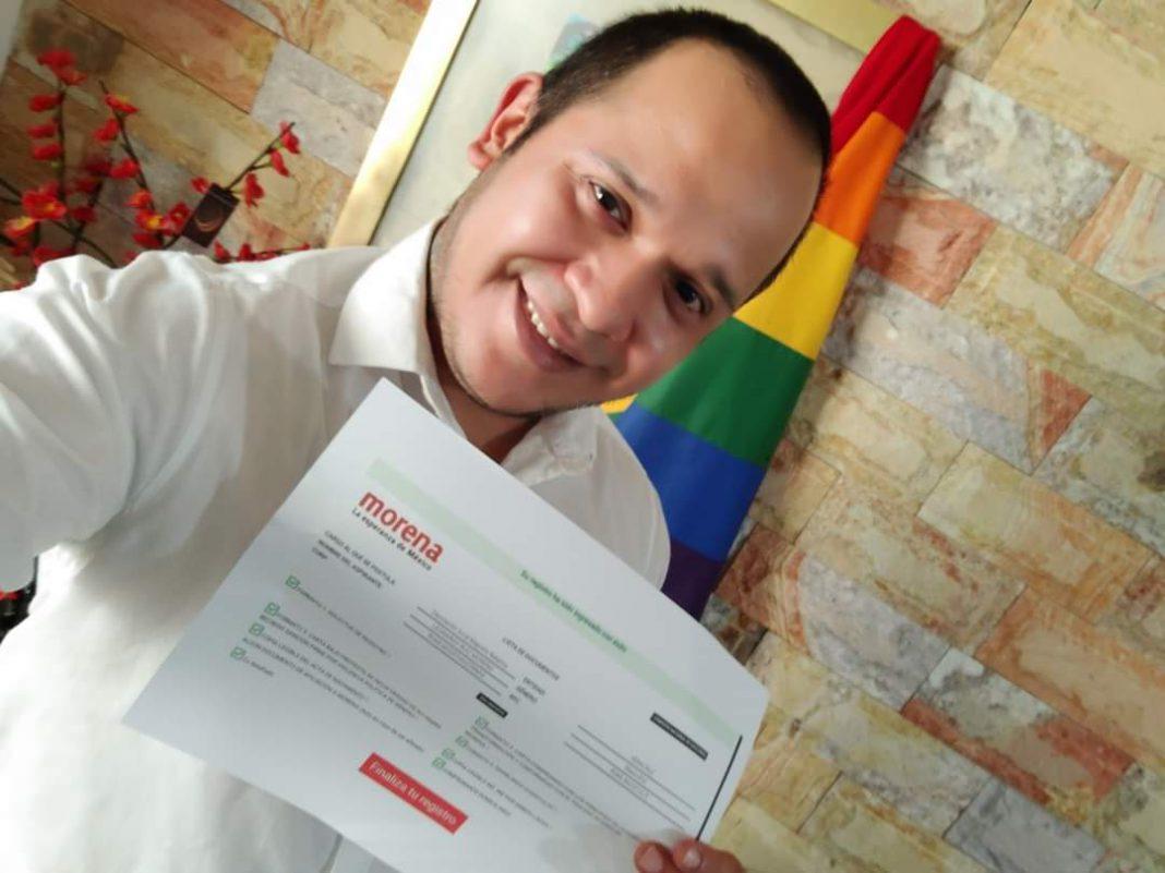 ¿Amigos o enemigos?; activista LGBT busca diputación con Morena