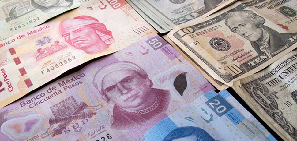 Peso mexicano gana tras racha de cuatro días seguidos a la baja