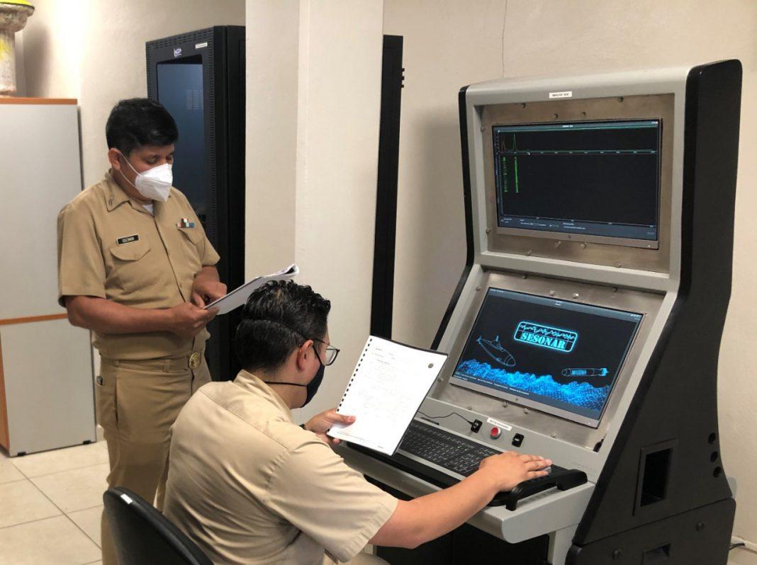 Secretaría de Marina desarrolla tecnología de entrenamiento para sistemas de sonar