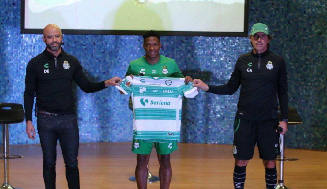 Ibargüen jugará con el 23 de Jordan y Beckham en Santos