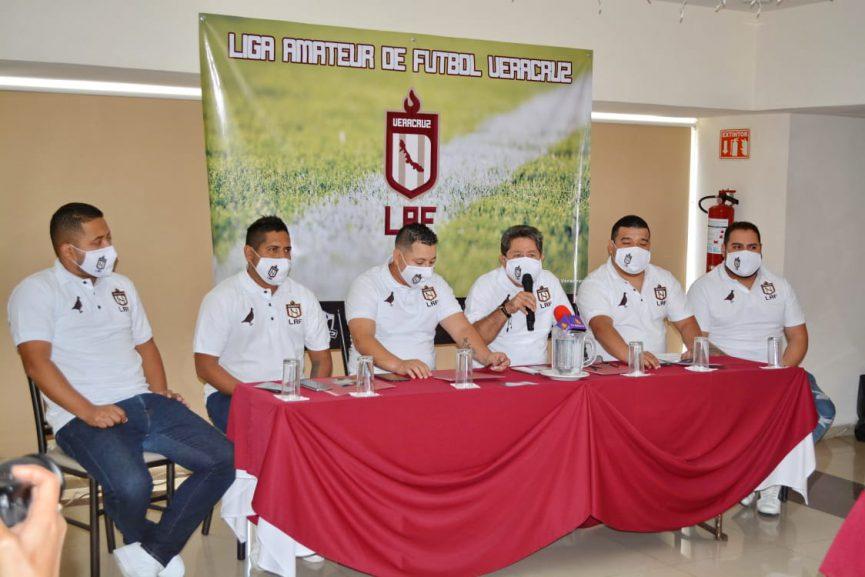 Presentan la Liga Amateur de Futbol Veracruz