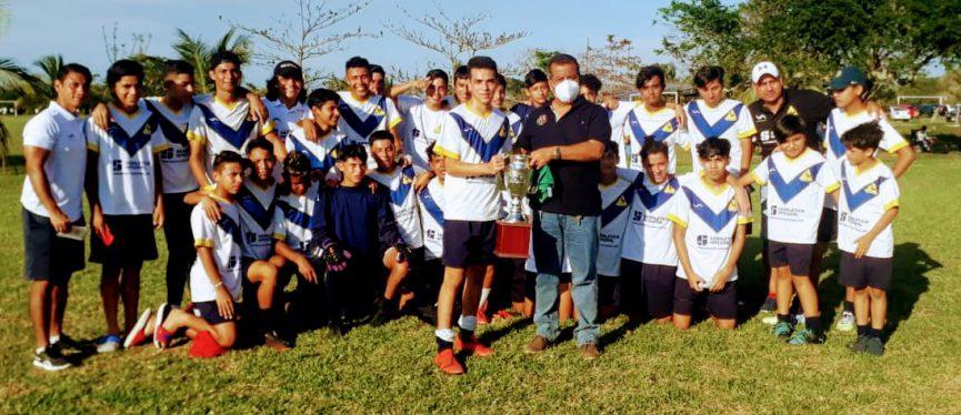 Premian a los campeones de la Liga Roberto Oropeza