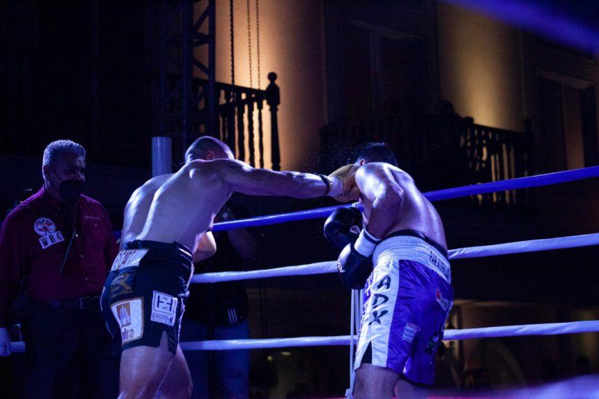 Brillan veracruzanos en velada Diamond Boxing Promotions