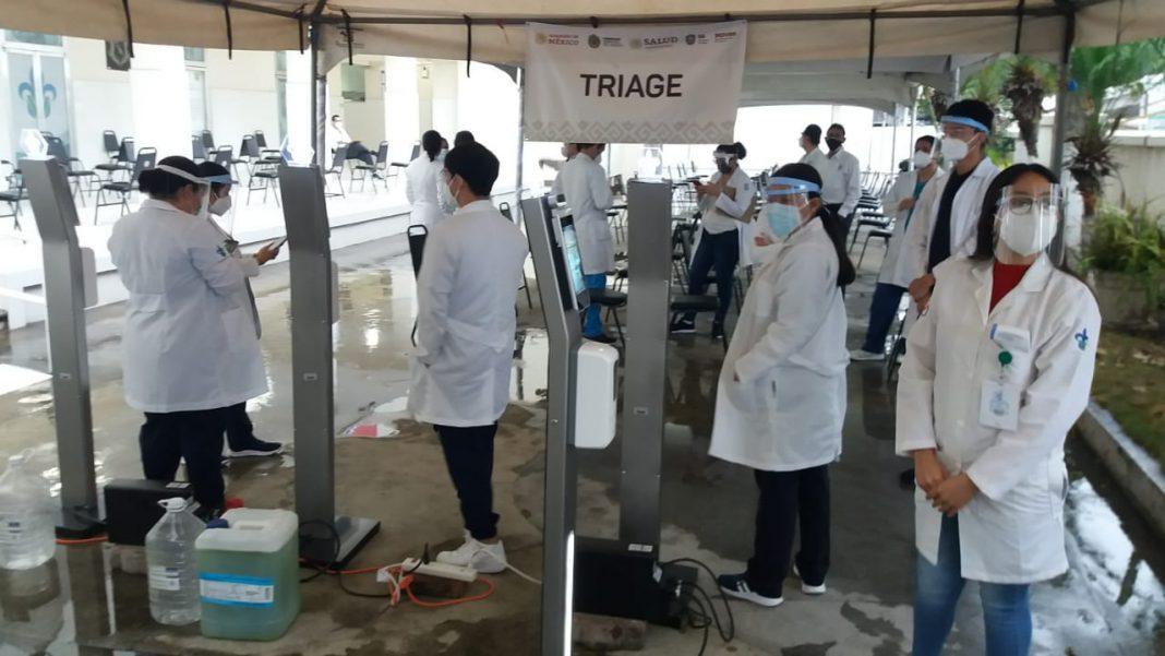 Arranca la vacunación contra covid-19 en Veracruz