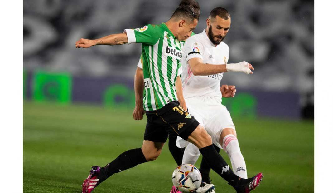 Guardado y Lainez destacan con Betis en duelo ante Madrid