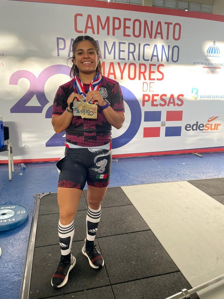 Ana López se proclama campeona del Panamericano de Halterofilia y acaricia su boleto a los Juegos Olímpicos