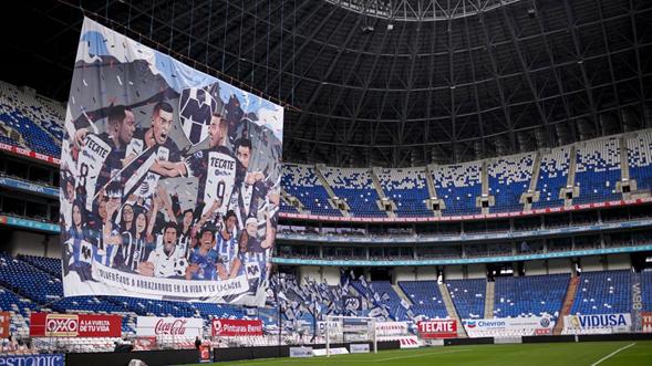 Monterrey anuncia la reapertura del estadio BBVA tras más de un año