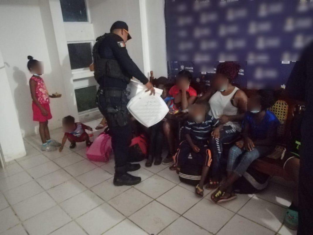 SSP rescata a 149 migrantes en tres municipios