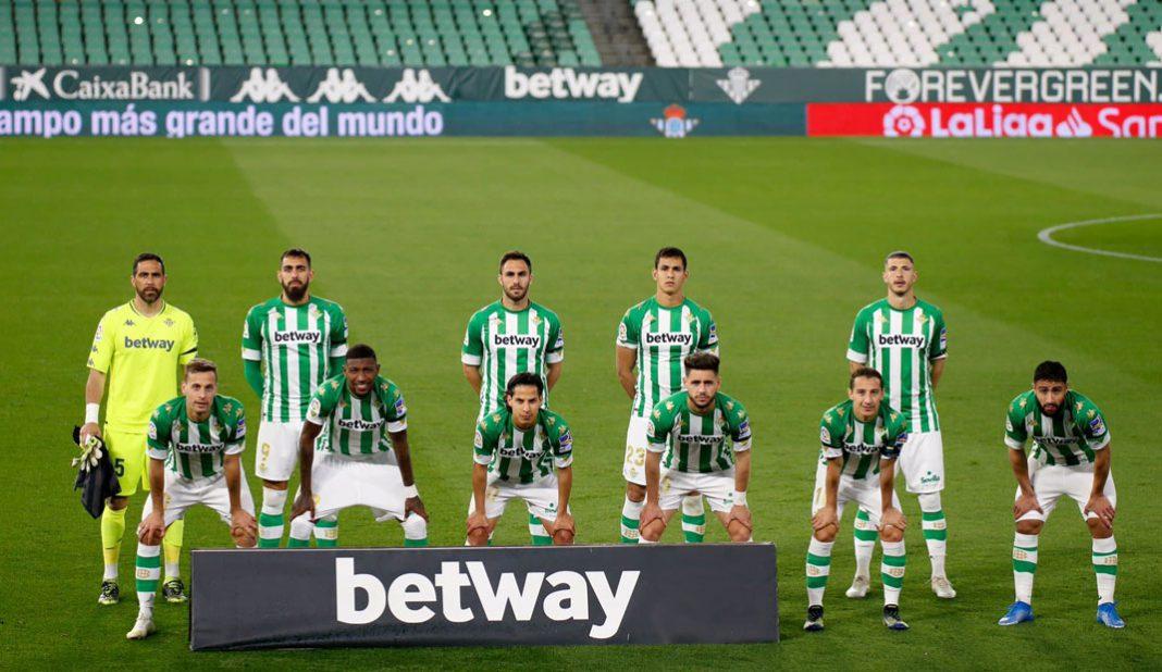 Guardado descartado con Betis para enfrentar al Atlético