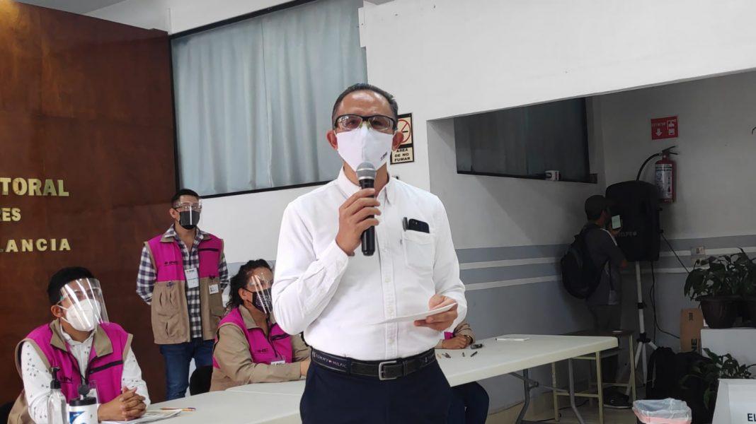 INE presenta protocolos sanitarios para las elecciones de este 6 de junio