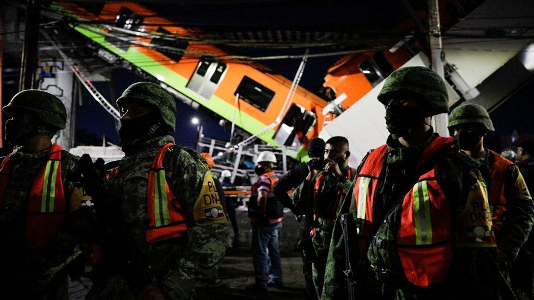 Gobierno de EU envía pésame a familiares de las víctimas por el colapso del Metro