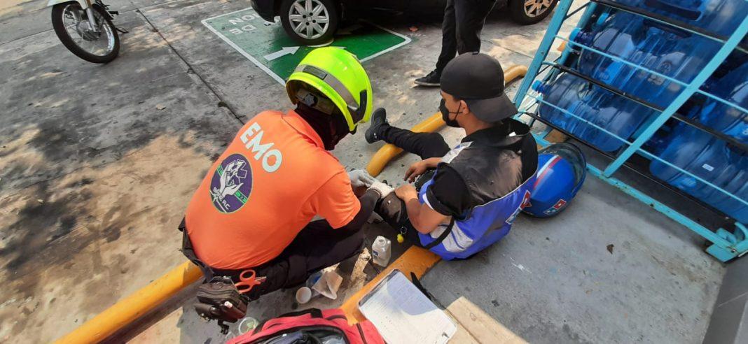 Atropellan a repartidor de pizza en Puente Moreno