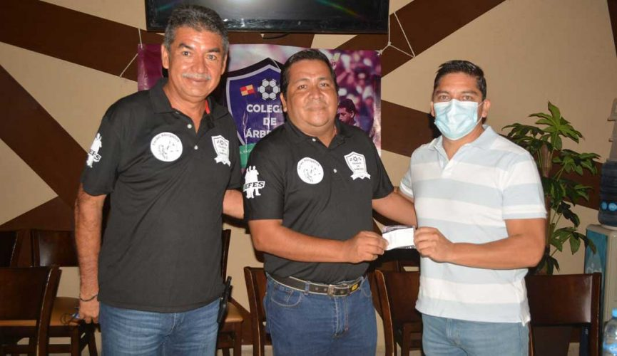 """Presentan el """"Colegio de Árbitros Dr. Pascual Rebolledo"""""""